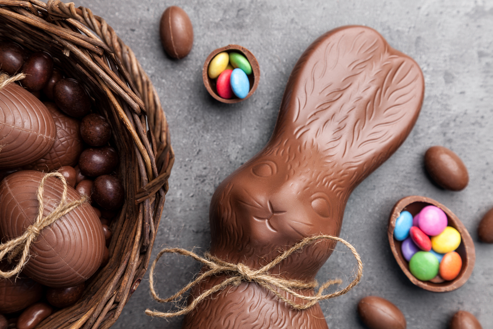 The worst traditional Easter foods for dental implants.