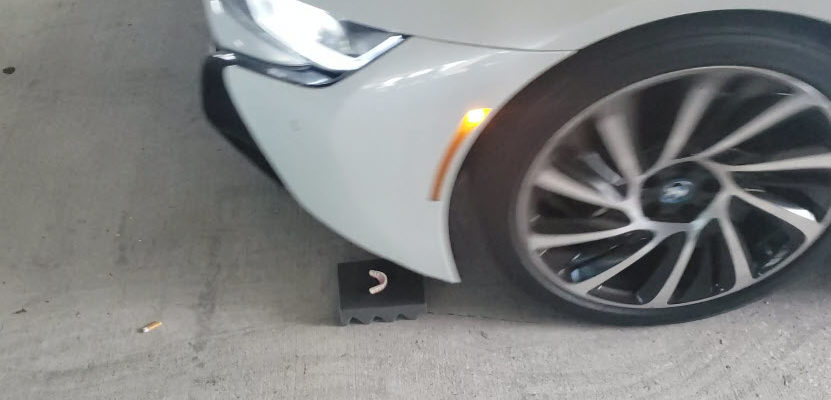 Bmw Driving over a Dental Implant